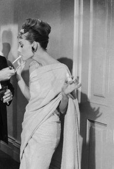 Audrey Hepburn ~ Breakfast at Tiffany's