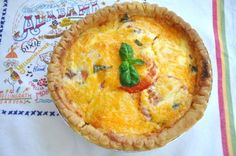 SouthernPlate Tomato Pie yummmy