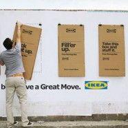 Guerrilla Marketing idea by IKEA to help move you.
