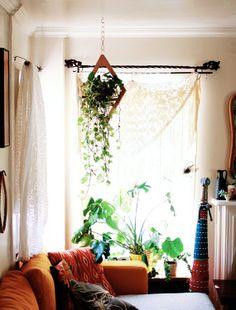 Love this hanging planter.