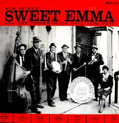 Sweet Emma & Preservation Hall Jazz Band. Recorded in Minneapolis (how weird is that?) in 1964 at the Guthrie Theatre.