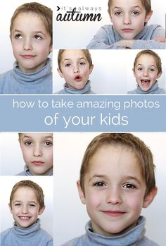 don't waste money on overpriced school portraits - learn to get great photos of your own kids in your own home instead!