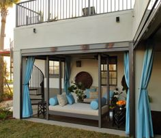 #Outdoor #Curtains Can Be Very Classy on Your Porch