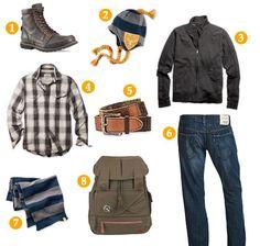 mens winter / fall clothing