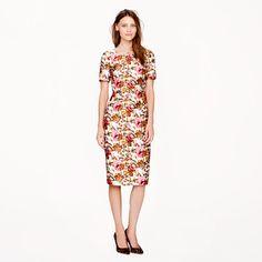 J.Crew - Collection antiqued floral dress