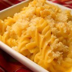 mac cheese, macaroni and cheese, side, bake macaroni, campbel bake, pasta, yummi, comfort foods, cheese recipes