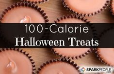 11 Halloween Treats Under 100 Calories. Helpful to know!! Going to be good this year!| via @SparkPeople #candy #Halloween #calories #diet #weightloss