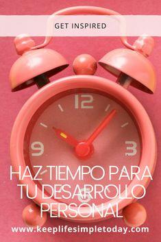 Tiempo para tu desarrollo personal