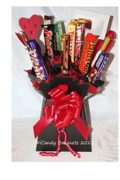 """""""The Made with Love (Red) Bouquet"""""""