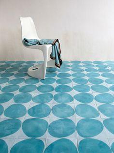 Modern morocco inspired concrete tiles designed by Claesson Koivisto Rune for Marrakech Design
