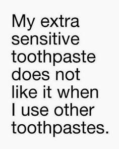 My extra sensitive t