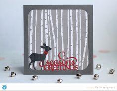 birch trees card