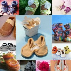Baby Shoes - 32 Tutorials #sewing #tutorial #baby