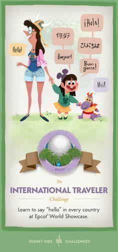 The International Traveler #DisneySide Challenge