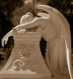 angel in mourning