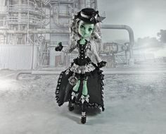 Monster High clothes outfit - pirate  steampunk set. sold on Etsy at JonnaJonzon