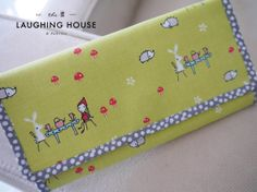 PREMIUM Cash Budgeting Purse Tea Party in by thelaughinghouse, $34.99