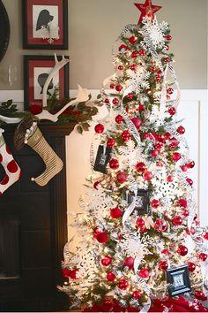 holiday, xmas trees, pretti tree, tree idea, christma tree, white christmas, tree inspir, christmas trees
