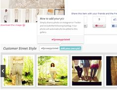 Urban Outfitters integrates Instagram & Twitter to crowd-source customer photos onto product pages  #Retail  #Fashion