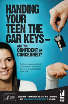 Does your school or organization need free materials to help support safe teen driving in your community?  We have what you need!  Posters, flyers, postcards, and more!  You can even add your own logo to the materials.  See our complete catalog. | Parents Are the Key to Safe Teen Driving | CDC Injury Center
