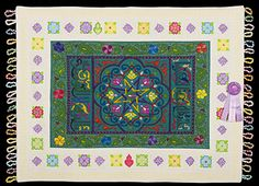2013 Quilt Expo Quilt Contest, Honorable Mention, Category 10, Wall Quilts, Mixed or Other: Magic Carpet Ride, Janet Wilson, Gold Hill, Ore.