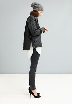 Madewell cocoon side-zip bomber