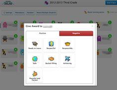 Teaching Mrs. T: Classroom Management-Class Dojo. Fun system for positive classroom management!