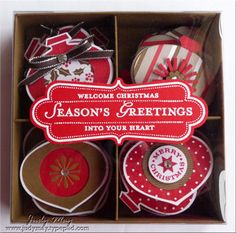 Gift Box of Christmas Tags by judym09 - Cards and Paper Crafts at Splitcoaststampers