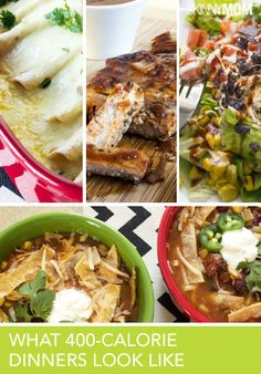 Great dinners under 400 calories.