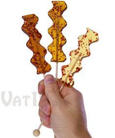 Bacon Lollipops.