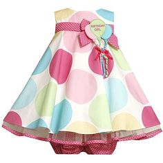 Birthday Girl dress... this would be cute for daughter's b-day!