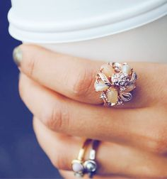 jewel bouquet ring