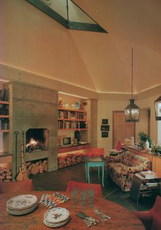 Interior by David Whitcomb. Photographs by Langdon Clay, Architectural Digest. Architecture by WM. Richard McGilvray.