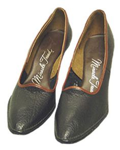 Miracle Tread 1960s Leather Shoes