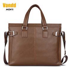 Aliexpress.com : Buy Vandd Men's Brown Soft PU Leather Zipper Tote Briefcase Fashion Shoulder Messsenger Bag from Reliable sport men bag suppliers on Vandd Men. $53.00 bag supplier, men bags, briefcas