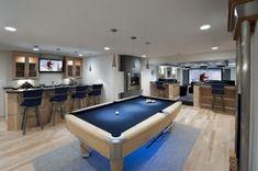 basement or sports bar?
