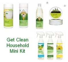 Shaklee Get Clean Household Mini Kit ©A Step Inside