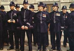 Whitehall Division, Metropolitan Police, London, UK 1950's/1960's