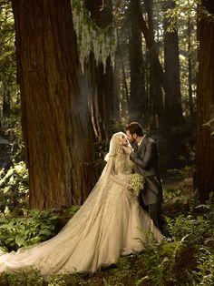 Billionaire Sean Parker's wedding - gorgeous photo!