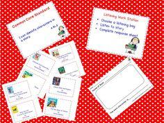 classroom idea, common core standards, literacy work stations, listen work, blog, teacher, classroom freebi, school idea, music classroom