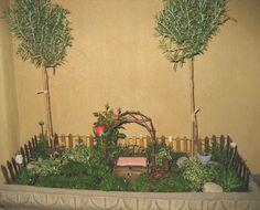 Shirley Boshov's mini garden