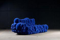 chair, couch, blue, furnitur, bubbl, design, de ceulaer, maarten de, mutat seri