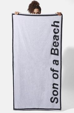 Ashish x Topshop 'Son of a Beach' Towel available at #Nordstrom