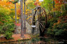 Berry College Water Wheel