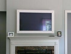 framed tv idea