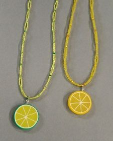 Fruit charm tut from Martha Stewart