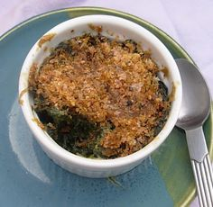 From Kirsten's Kitchen to Yours: Vegan Creamed Spinach