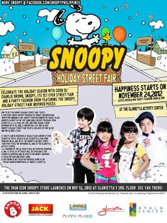 Whippersnapper World: Snoopy's Holiday Street Fair 2012