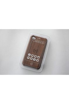 Walnut iPhone 4 RFID Case