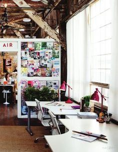 great creative space, I want to work here!